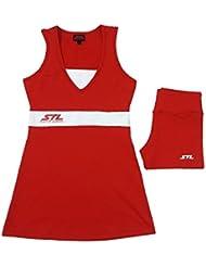 Vestido Pádel / Tenis Steel Custom Swim Mujer Rojo 2016