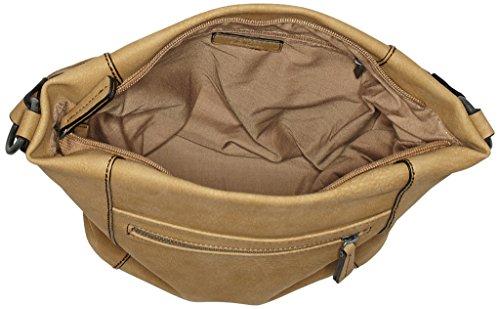 s.Oliver (Bags) - Hobo Bag, Borse a mano Donna Beige (Sandstone)