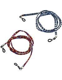 Homyl 2 Piezas Correa de Algodón Estilo Étnico Cordón para Gafas Lentes
