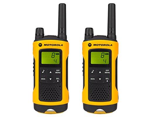 funkgeraete mit headset Motorola TLKR T80 Extreme PMR Funkgerät nach IPx4 (wetterfest, Reichweite bis zu 10 km)