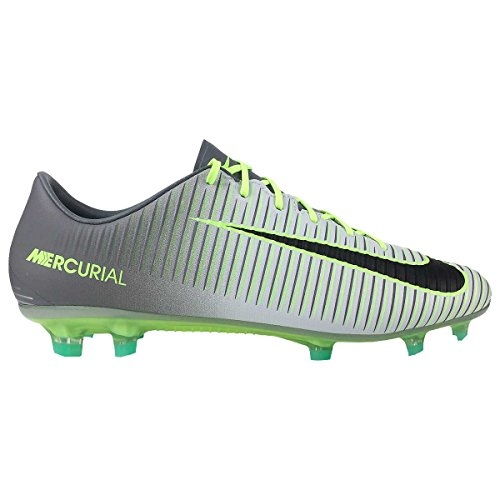 Nike 847756-003, Chaussures de Football Homme, Gris Gris