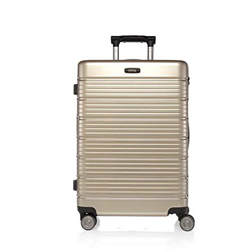 XDDJH Borsa da viaggio per cabina da donna con ruote da 24/28 pollici con ruote per valigie rotanti per ricarica multifunzione USB