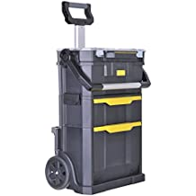 Stanley STST1-79231 - Taller móvil modular y caja de herramientas 2 en 1