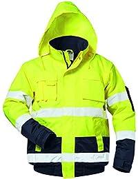 Warnschutzpilotjacke *hasso* Safestyle® Gelb/marine Gr S Reine WeißE