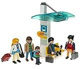 PLAYMOBIL Voyageur et arrêt de bus
