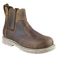 Amblers Steel FS165 Welted Safety Dealer Boot Brown Crazy Horse 08