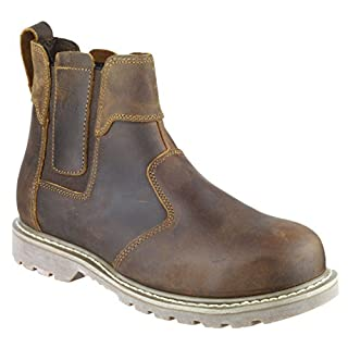Amblers Mens & Womens FS165 Leather Slip Resistant Safety Dealer Boots