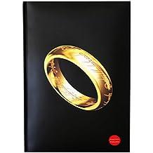 Quaderno con luce grande anello. Il Signore degli Anelli