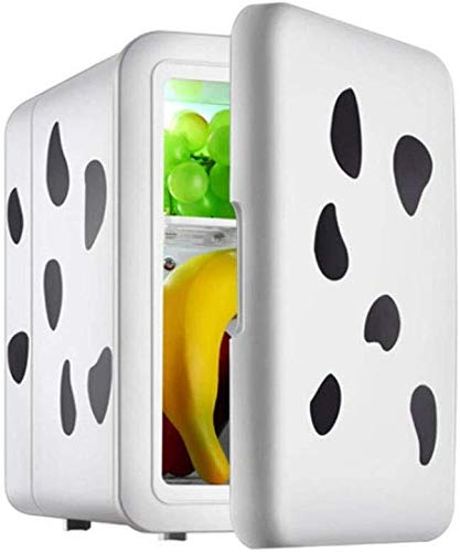ZHENYUE Ini frige Cooler ein warer, elektrische TeroElectric Copact ini Kühlschrank for Auto oe oder roo Büro -COW 4L ZHENYUE (Color : Cow, Size : 4L)