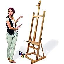 Artina Cavalletto per pittura da studio Siena - legno massello di faggio -  per artisti e ae10245676f2