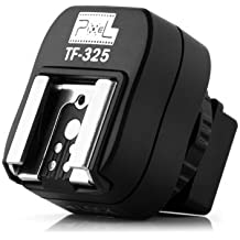 Pixel TF-325 TTL Flash Adaptador de Zapata Caliente con Puerto de Sincronización de PC Extra Para Sony Digital SLR cámara
