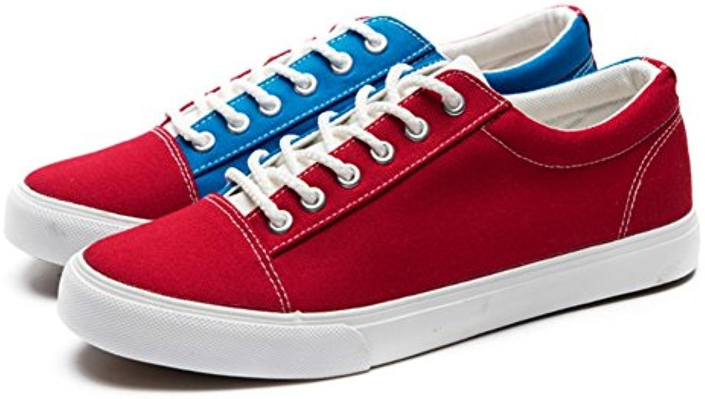 Zapatos de Hombre Canvas Spring Fall Comfort Zapatillas con Cordones Transpirables Zapatos Corrientes Mocasines...