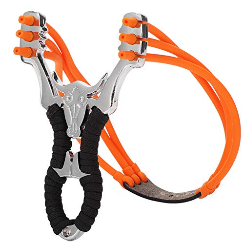 Wheel-hy Steinschleuder, Gute Qualität Edelstahl Draussen Jagd Schleuder Schießen Spielzeug