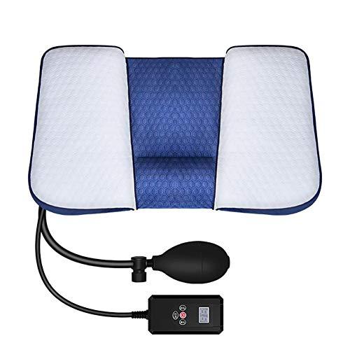 SXFYMWY Hals-Traktionsgerät Elektro-Heizungs-Komprimen-Massager-Hausnapfen Kissen