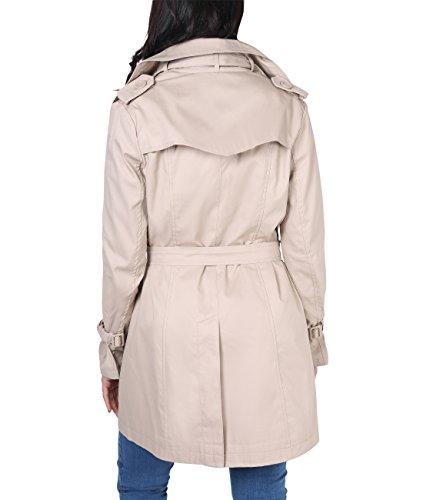 KRISP -  Cappotto  - Basic - Maniche lunghe  - Donna Stone
