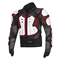 Motocross Body Guard High Race Motocross Armor Clothing Summer Breathable Hockey Pants Chest Protector Back Armor Full Knight Protective Gear, Tops & Pants