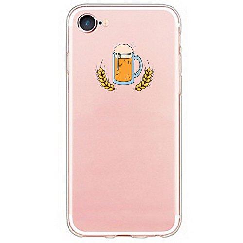 Inonler Kalter Sommer, Urlaubszeit, Bier und Grill, weich transparent hülle(iPhone 6S hülle, iPhone 6 hülle (4,7