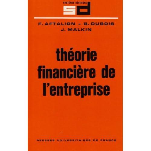 Théorie financière de l'entreprise