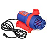 Decdeal Bluefish DC 24V Brushless Variable Frequency Water Pump with Intelligent Controller Submersible Pump for Fish Tank Aquarium Pool 5000L/H 55W