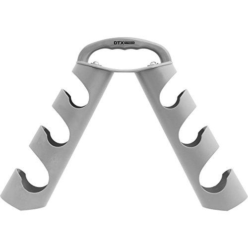 DTX Fitness - Tragbarer Hantelbaum für Kurzhanteln - Grau