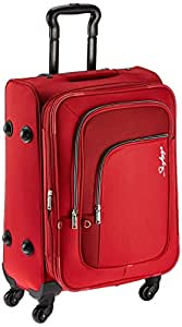 Skybags Scot SP 58 cm Red Soft Trolley