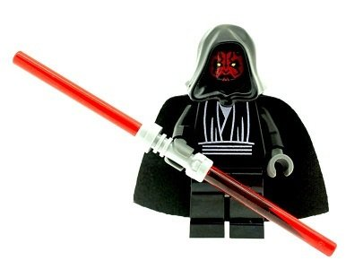 LEGO Star Wars: Darth Maul Mini-Figurine Avec Double Rouge Lightsaber