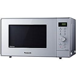 Panasonic NN-GD36HMSUG Micro-ondes grill 23L avec STEAM+, 23 liters, Silver