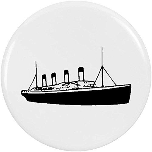 Azeeda 2 x 38mm 'Titanic Ship' Small Button Pin Badges (BB00043522)
