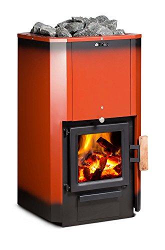 FinTec Holz-Saunaofen Iwo Rubin: 15,9 kW / keine BImSchV