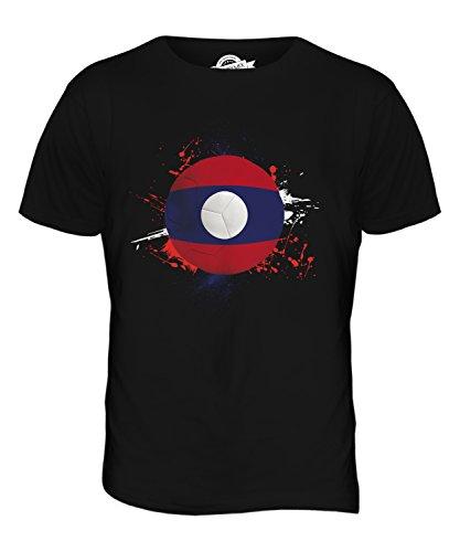 CandyMix Laos Fußball Herren T Shirt Schwarz