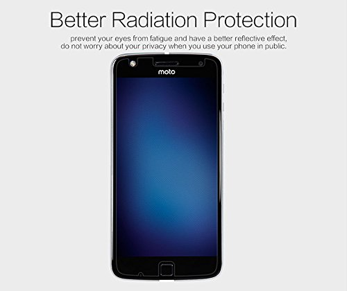Nillkin Screen Guard for Motorola Moto Z Play Whole Set Version Matte Anti Glare Front + Clear Back Film + Camera Film