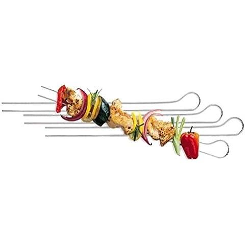 Spiedini A Doppie Punte Per Cucinare La Carne E Verdure, E Barbecue 33 Centimetri – Confezione da 8 [version:x7.9] by DELIAWINTERFEL