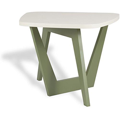 microstudio – Vice Versa : Table de café Design Minimaliste, Bois. Trapezio