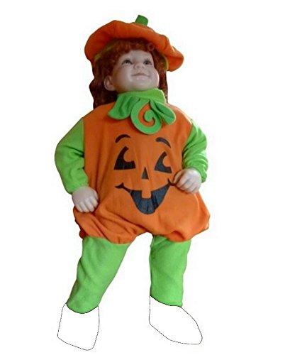 (F69 Größe 92-98 Kürbis Pumpkin Kostüm für Halloween und Fasching)