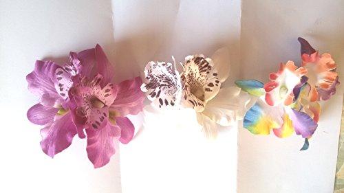 Multicolor-New-Fashion-boda-novia-Orqudeas-Hair-Clip