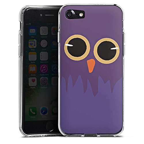Apple iPhone X Silikon Hülle Case Schutzhülle Trash Dove Taube Vogel Silikon Case transparent