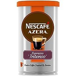 NESCAFÉ Azera Espresso Intenso Café Soluble | Lata de aluminio | Paquete de 6 Latas x 100 g - Total: 600 g