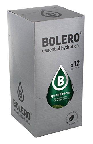 Bolero Preparado para Bebida, Sabor Guanabana - 12 sobres