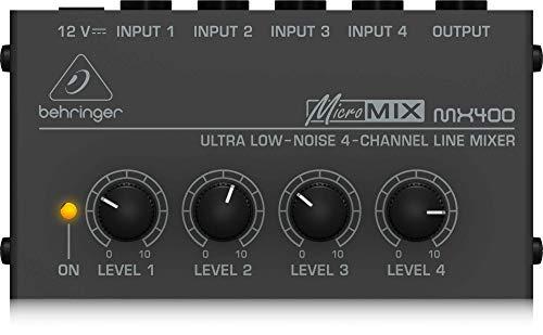 Behringer MICROMIX MX400 4-Channel Mixer