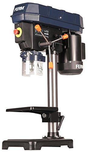 FERM Trapano a colonna - 350W - 13 mm - Velocità regolabile