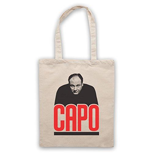 Inspiriert durch Sopranos Capo Inoffiziell Umhangetaschen Naturlich