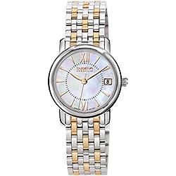 Dugena Damen-Armbanduhr RONDO PETIT Analog Quarz Edelstahl 7090155