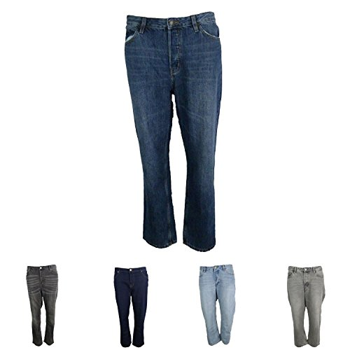 Marks and Spencer EX M&S Mid Rise Cropped Straight Leg Jeans