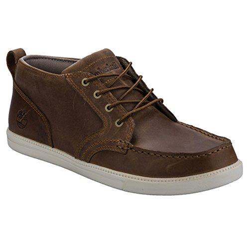Timberland Fulk Moc Toe Chukka Boots Tan 8.5 UK