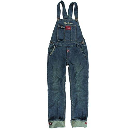 Rusty Pistons Jeans Latzhose - Bedford Denim (W33 / L34)