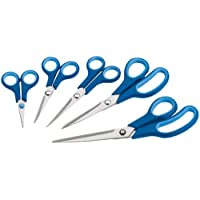 Draper 75552 5-Piece Soft-Grip Household Scissors Set