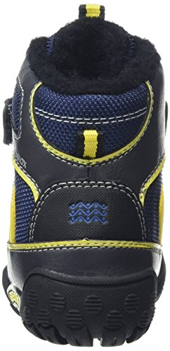 Geox B Gulp B Abx B, Chaussures Marche Bébé Garçon Blau (NAVY/YELLOWC0657)