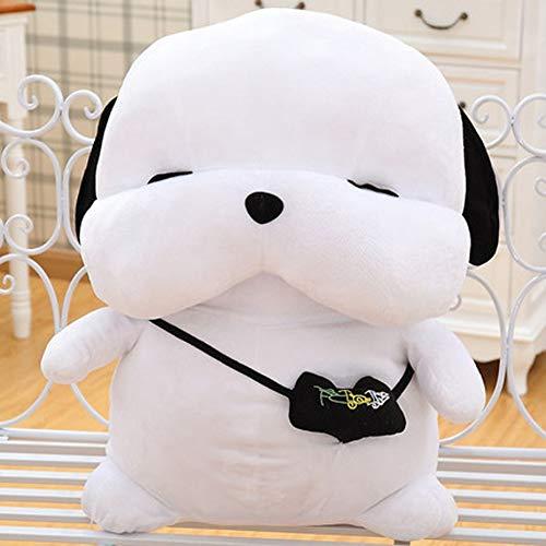 MMD Regalo di Compleanno del Giorno dei Bambini del Cuscino Adorabile del Cucciolo di Ragdoll del Giocattolo della Peluche (Colore : Bianca)