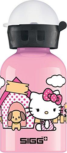 SIGG Hello Kitty Cute, Kinderflasche, Auslaufsicher, BPA Frei, Aluminium, Pink - 0.3 L (Hello Kitty Flaschen)