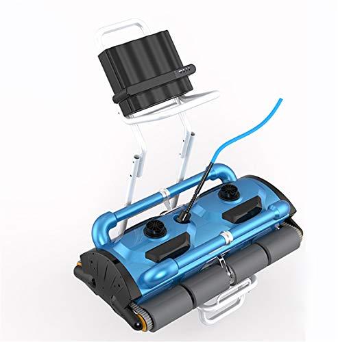 Homeure Robot Elettrico Pulitore Automatico Piscina per Fondo + Pareti-Intervallo di Pulizia 500m²